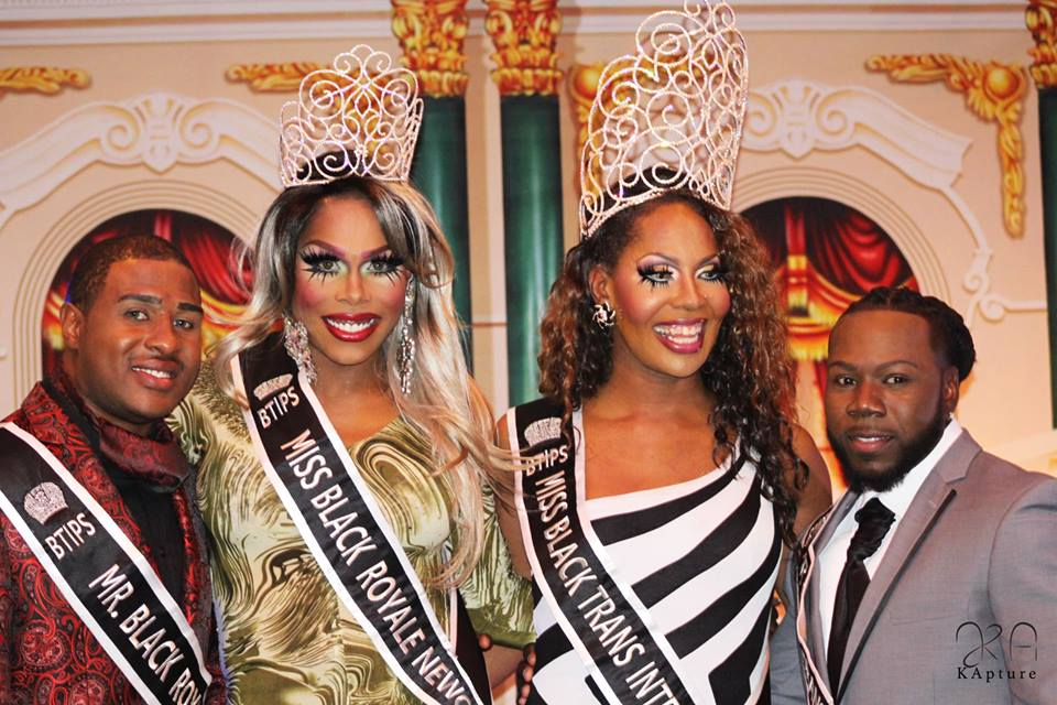 Black Trans International Pageant Court - 2015