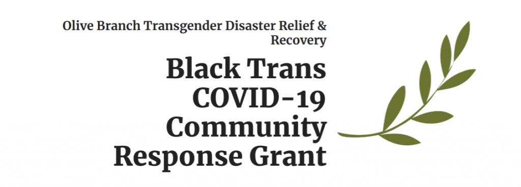 black trans coronavirus grant